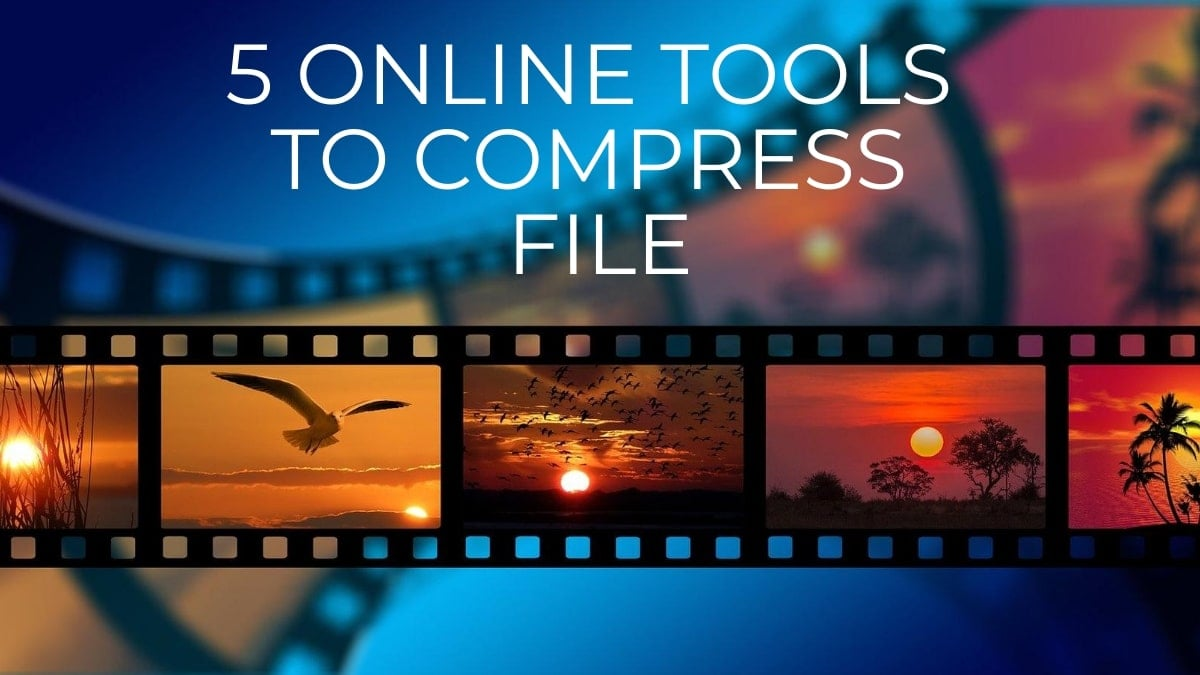 5 Online Tools to compress file