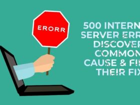 500 Internal Server Error   Discover common cause & find their fix