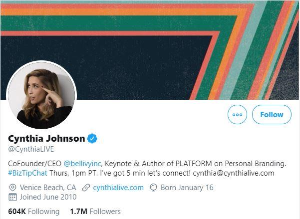 Cynthia Johnson - The Expert SEO influencer