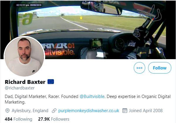 Richard Baxter - SEO Expert 2020